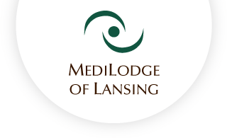 Medilodge of lansing web logo